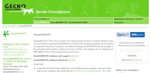 نرم افزار مهندسی / GeckoCIRCUITS